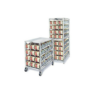 """Lakeside PBCR1 40-1/8""""Wx26""""Dx41-1/4""""H Mobile Can Storage Rack"""