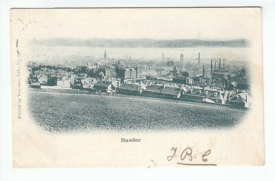 Dundee Angus Lots Of Factories And Chimneys 28 Oct 1902 Lang Holmpark Cottage