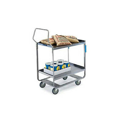 "Lakeside 4711 16-1/4""x30""x46-1/4"" Handler Heavy Duty Utility Cart"