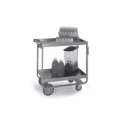 "Lakeside 757 22-1/4""x54""x37-1/4"" Stainless Steel Heavy Duty Utility Cart"