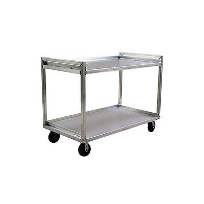 "Lakeside PB2237 37-1/2""Wx22""Dx41-3/4""H 2-Tier Aluminum Utility Cart"