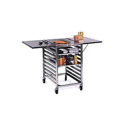 Lakeside 110 Portable Stainless Steel Wing Table