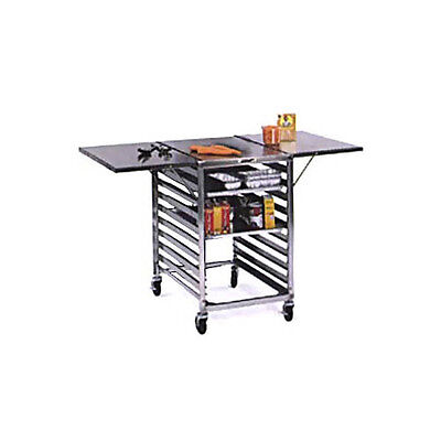 Lakeside Portable Stainless Steel Wing Table - 110