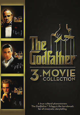 The Godfather Collection (DVD, 2015, 3-Disc Set)