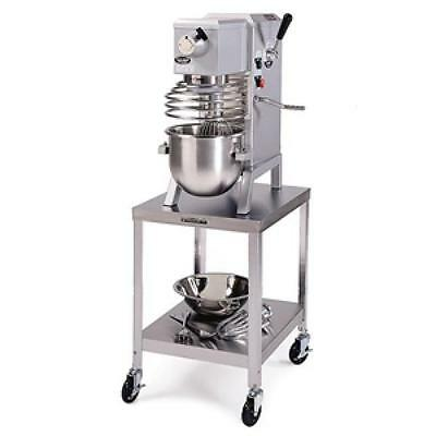 """Lakeside 735 20""""x24""""x21-3/16"""" Stainless Steel Stationary Machine Stand"""