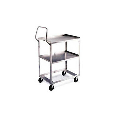 "Lakeside 6830 22""x53-1/8""x44-3/8"" Stainless Steel Ergo-One® Utility Cart"