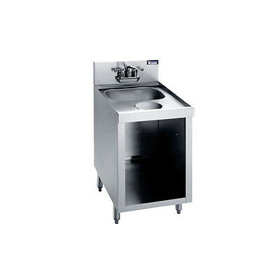 "Krowne Metal KR21-S18C Royal 2100 Series 18""W Underbar Hand Sink"