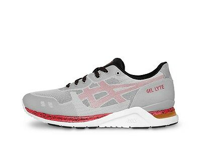 Asics Men's Tiger GEL-LYTE EVO NT HN544.9023 Grey/Black/Red