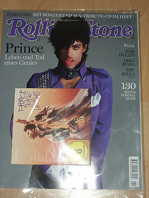 ***  Rolling Stone 6/16  PRINCE  German Special Tribute Magazine  + CD + DVD