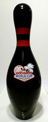 Qubica AMF special World Cup 2015 bowling pin limited release