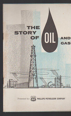 The Story of Oil & Gas Booklet Phillips 66 Petroleum Co 1970s