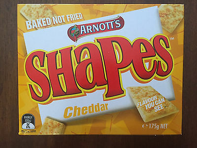 Arnotts Cheddar Shapes 175g Box - Original Flavour / Recipe