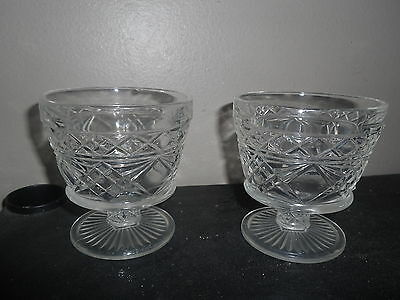 Anchor Hocking Wexford Clear Glass Sherbet Glasses-2