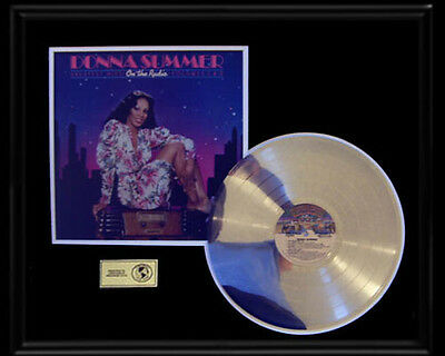Donna Summer Greatest Hits On The Radio Rare Gold Record Platinum Disc Lp