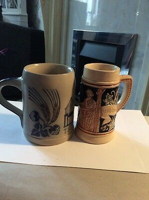 Goebel W Germany Tankard & 1 Other  Western Germany