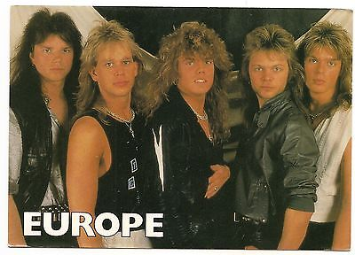 Carte Postale Groupe Europe  Tbe
