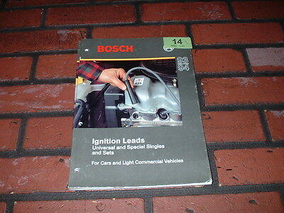 Genuine Bosch Ignition Leads Catalogue. 1993/1994