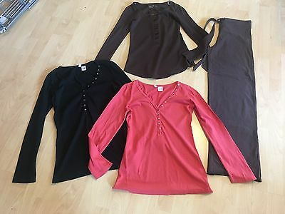 BUNDLE 4 Maternity Tops & Trousers 8 COCOON x 2 MODA x 2 GREAT CONDITION