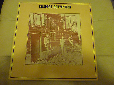 Fairport Convention Long Play Album -- Angel Delight