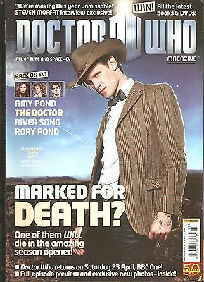 Rare! Doctor Who Magazine #433 - Marked For Death? Collectors' Cover 2 Of 4