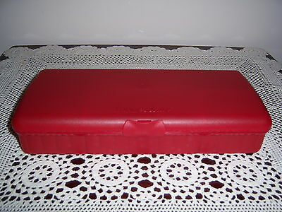 Retro Vintage Tupperware Tuppercare Sandwich Keeper Plus Container Lunchbox