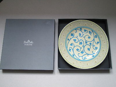 """Rosenthal """"natural Bokhara"""" Plate ...  (Studio Linie Germany - Designers Guild)"""