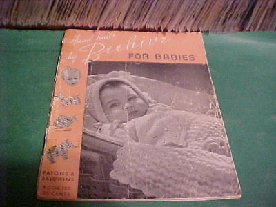 '41 Knitting Book Knits By Beehive Handknits For Babies