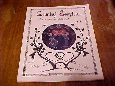1979 Country Sampler Booklet Folk Art Tole Painting
