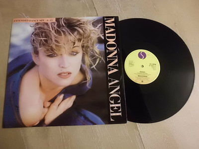 "MADONNA 12"" SINGLE P/S * ANGEL (Extended Dance mix) *"