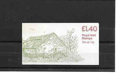GB 1981 Industrial Archeaology #5 Folded £1.40 Booklet - FM 1A
