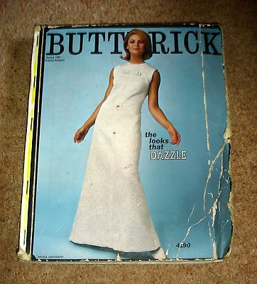 January 1967 Vintage Butterick Sewing Patterns Store Catalogue Reference Book