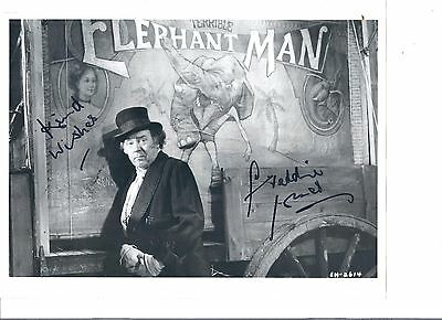 "FREDDIE JONES- Fine Actor In -""The Elephant Man + Emmerdale"" -Signed 8x10 pic"