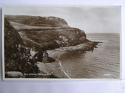 R/P POSTCARD - BENLLECH CREEK - ISLE OF ANGLESEY - WALES - c.1930