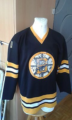 Tibas Sweden Ice Hockey Boston Bruins Nhl Vintage Rare Shirt Jersey Maglia