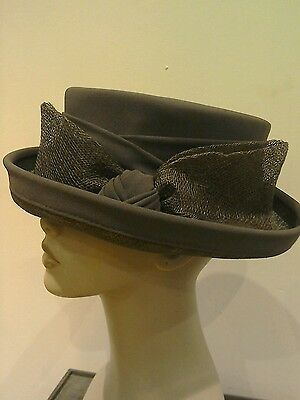 Ladies Brown Lead Rein Hat