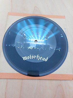 Motorhead (live) - Motorhead / Over The Top BROP 124 45 single Picture Disc 1981