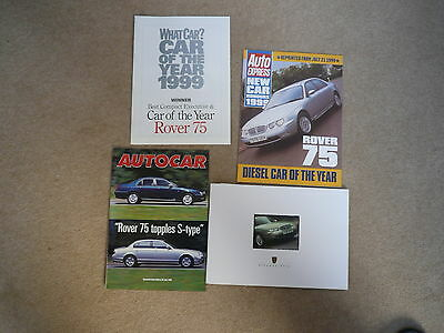Rover 75 brochure, Specifications, Price list from 2000 plus 3 reviews