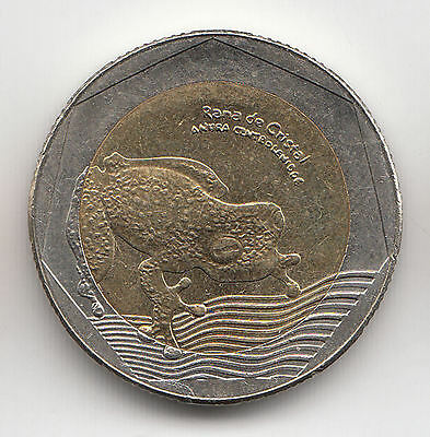 Colombia 500 Pesos 2016 Frog Unc    144K                    By Coinmountain