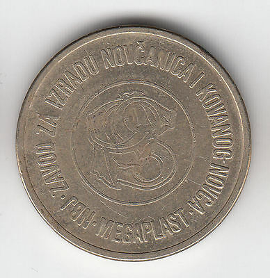 Yugoslavia Telephone B Token C1990    125K             By Coinmountain