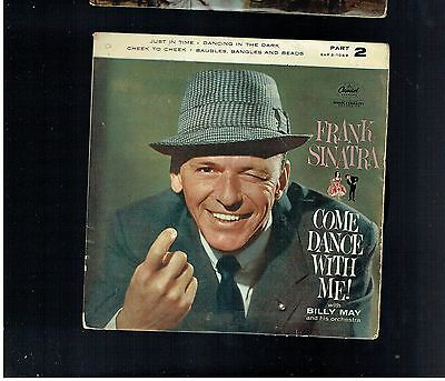 Frank Sinatra Come Dance With Me Part 2 Ep Cheek To Cheek/just In Time