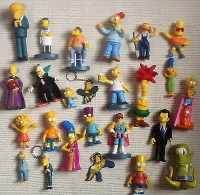 Simpsons Bundle Collection Figures Bart Homer Maggie Lisa Marg.