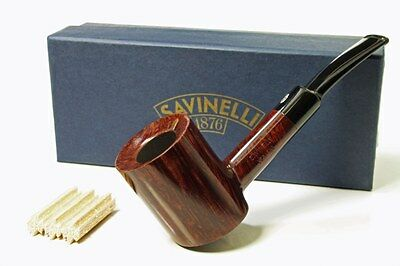 Savinelli Veritas 311 Stand up Poker Pfeife pipe pipa 9mm Filter neu/ovp
