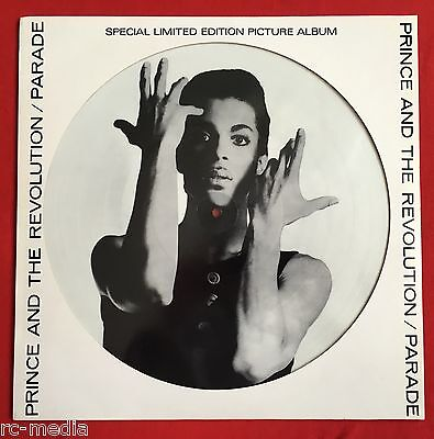 PRINCE -Parade- Very Rare LP Picture Disc with Original Die Cut Sleeve (vinyl)