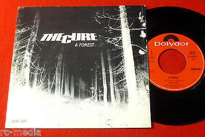 """THE CURE - A Forest - Rare Polydor 7"""" +Picture Sleeve / Dutch Pressing"""