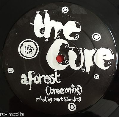 """THE CURE -In Between Days/A Forest (Remixes)- Rare UK 12"""" Promo (Vinyl Record)"""
