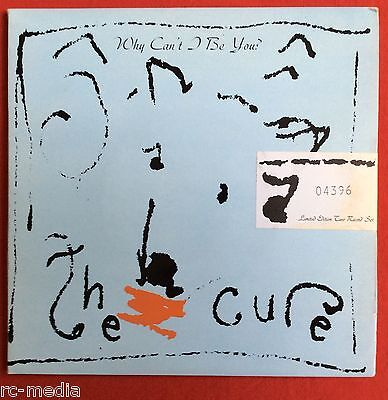 "THE CURE -Why Can't I Be You- Rare 7"" Double Pack/Gatefold Sleeve (Vinyl Record)"