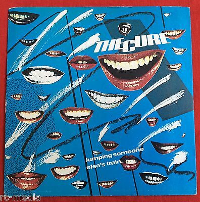 "THE CURE -Jumping Someone Else's Train- Original Fiction UK 7"" w/ Picture Sleeve"