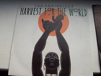 The Christians, Harvest For The World / Small Axe. Original 1988 Island Single