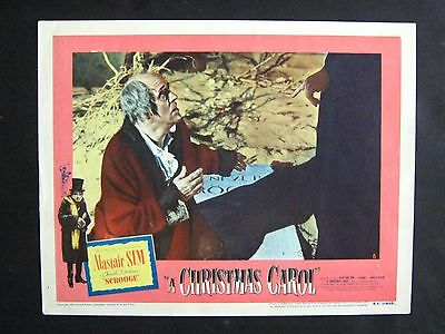 A Christmas Carol '51 Scrooge Views His Own Tombstone Alastair Sim Rare Lc
