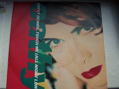Cathy Dennis, Touch Me (All Night Long) / Rhodesapella Mix. 1981 Polydor Single
